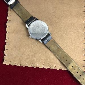 Jacques Lemans Accessories - Vintage Jacques Lemans Silver Tone Watch Black
